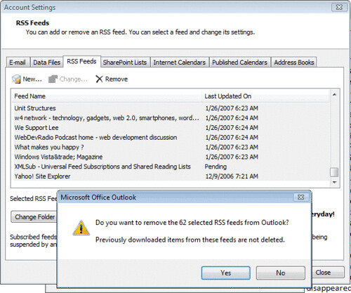 outlook_remove_rss_feeds
