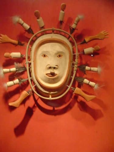 máscara inuit