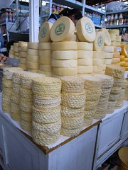 Cheese in Arequipa Markets