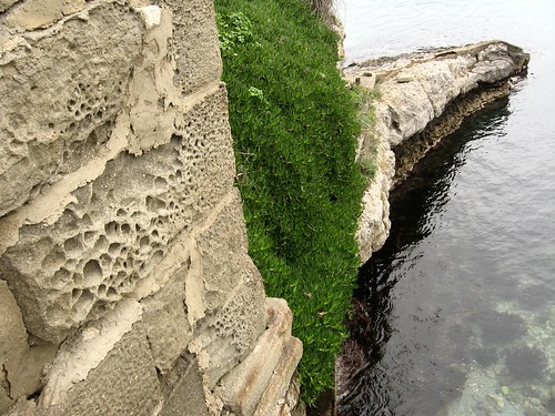 Amasra Castle walls, Amasra, Black Sea coast of Turkey