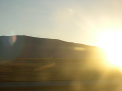 Amanecer desierto carretera norte - by --PGV--