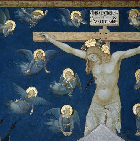 Simone Martini and Others, Crucifixion of Jesus Christ (detail)