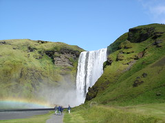 Skgafoss (little_frank) Tags: trip travel wild vacation panorama cliff tourism nature water beautiful beauty rock wonderful river spectacular wonder landscape island freedom volcano lava photo waterfall iceland islandia amazing fantastic rainbow scenery rocks europe heaven paradise colours silent power view place natural dream free peaceful pic falls special fantasy photograph stunning dreamy wilderness fabulous foss pure viaggio breathtaking impressive vacanza regenbogen vastness islande ancestral sensation skgafoss breathless unspoiled islanda irreal powerfull primordial immensity skogafoss skogar skogarfoss mywinners sland