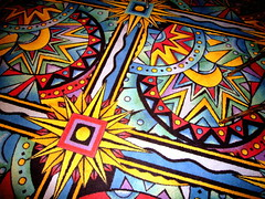 Casino Carpet (Musical Mint) Tags: trip travel vacation sun holiday gambling color colour beach carpet island crazy colorful paradise bright interior decoration vivid carribean casino aruba rug highfive colourful interiordesign bizarre outrageous amateurs abeauty musicalmint amateurshighfive invitedphotosonly
