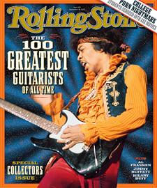 Los 100 mejores guitarristas de la historia por la rolling s