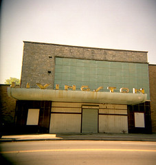 livingston (p i n k i e s t y l e) Tags: columbus ohio color abandoned sign toy holga wwwpinkiestylecomps