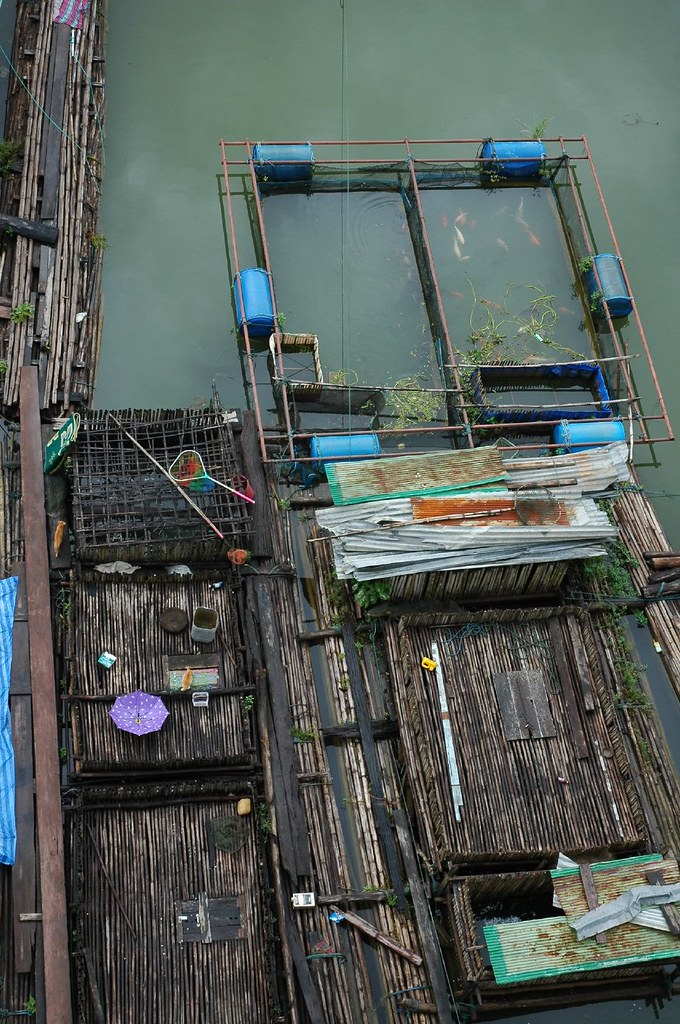Sangkhlaburi floating village