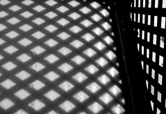 Shadows (ricko) Tags: snow abstract shadows deleteme10 deck lattice