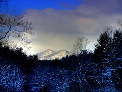 Mountain Snow ( D L Ennis) Tags: snow mountains virginia blueridge