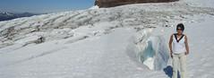 Tronador Trek - 36 - Ruth glacier pano (Large)