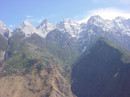 montañas continuas