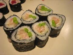 Salmon and asparagus rolls