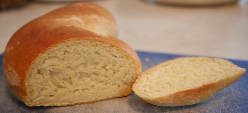 Semolina Bread Sliced