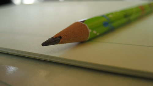 Graph Paper and Pencil by iliveforsun, on Flickr