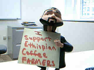 I support Ethiopian Coffee Farmers