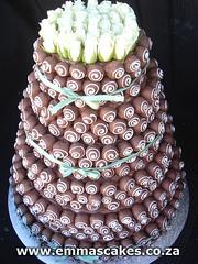 как сделать сметанный торт: торты мастер класс, торт сумка.