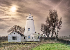 Scott of The Fens (. Andrew Dunn .) Tags: uk trees england sky lighthouse house architecture britain lincolnshire processed hdr eastanglia fenland rivernene thefens peterscott interestingness48 i500 suttonbridge challengeyouwinner aplusphoto neneoutfall guy'shead