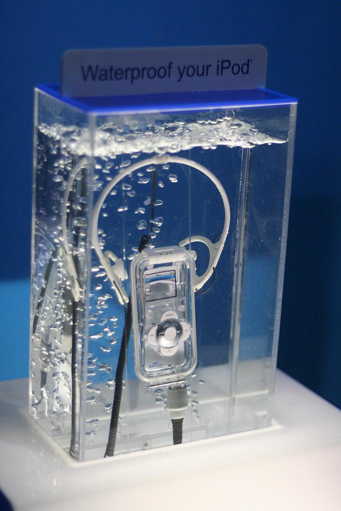 Waterproof your iPod