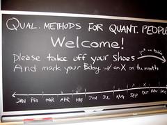 Qualitative Methods for Quantitative People: Instructions