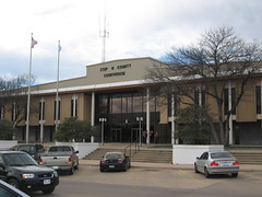 Exploring Oklahoma History: Stephens County Courthouse -  New and Old