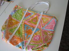 Sides sewn together (zannestar) Tags: bag skirt imadethis remake