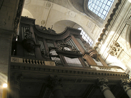 St. Sulpice Pipe Organ, Paris France