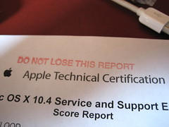 22 03 07 - Apple Technical Certification - by Cliph