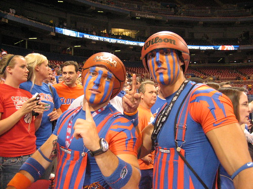 Two Fantastic Gator Fans