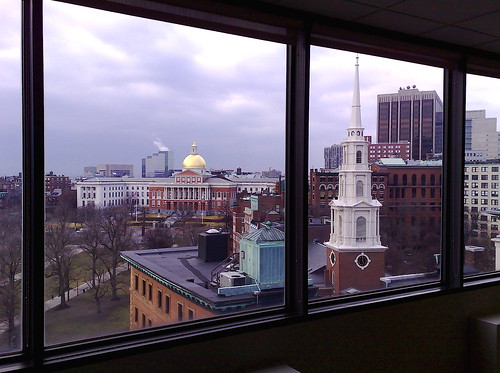 The View from the BostonNOW Offices