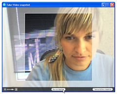 Video snapshot — resize and position