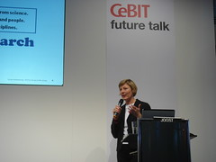 CeBIT future talk 2007