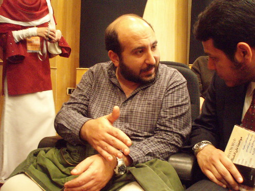 Socialist activist Sameh Naguib (Photo by Hossam el-Hamalawy)
