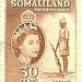 Somaliland Protectorate - 30 cents