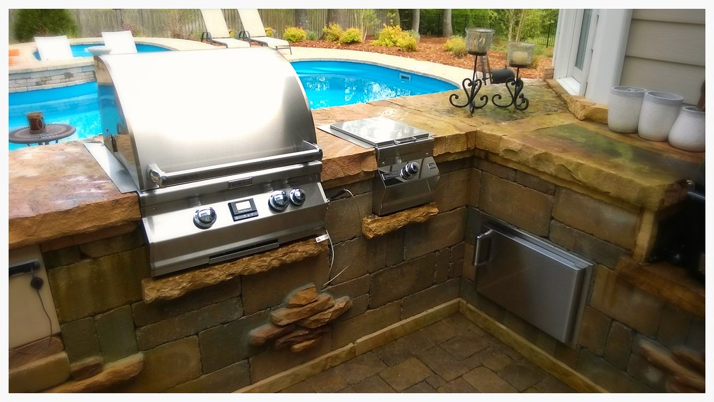 Custom Outdoor Kitchen. Chattanooga, Tn.