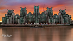 Space Invaders ... (Mike Ridley.) Tags: vauxhall flats stgeorgeswharf london riverthames thames architecture sonya7r2 mikeridley leefilters longexposure longwayfromhome