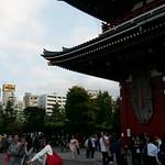 Meiji Schrein Tokyo mit Blick auf Skytree