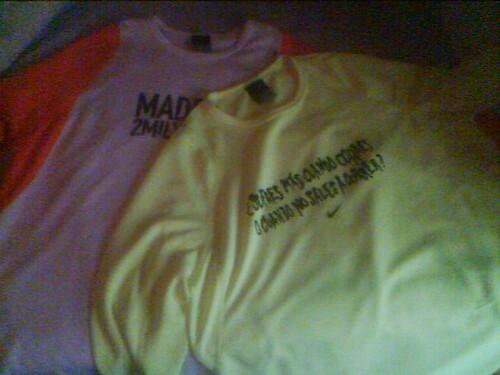 Camisetas San Silvestre 2005 y 2006