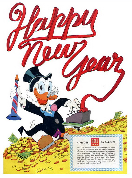 Walt Disney's Uncle Scrooge #16 (Dec-Feb 1957)