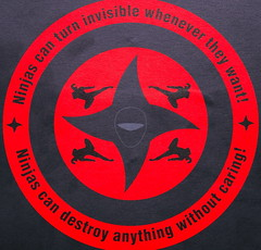 useful reminders (scottfeldstein) Tags: sign circle square ninja squaredcircle hipbotunsquare