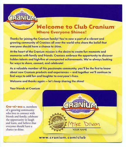 cranium card