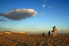 Family and the Cloud (M. Longfellow) Tags: family sunset sky cloud beach newjersey capemay 123njpeople capemayx