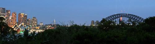 Dusk panorama
