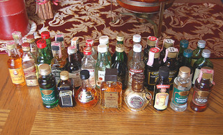 Financial Advice and Small Bottles of Liquor