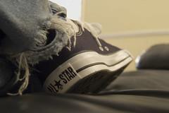 chucks (ratterrell) Tags: d50 shoe nikon shoes rip nikond50 jeans converse taylor chuck nikkor ratterrell allstar chucks 1855mmf3556g 2007