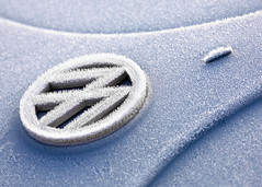 Frosty Bug (Todd Klassy) Tags: auto morning blue winter abstract cold lines car horizontal closeup wisconsin vw sedan vintage bug volkswagen logo outdoors automobile frost crystals body hoarfrost antique air curves freezing nobody surface front line madison german elements transportation vehicle icing hood form temperature icy rime shape trademark import wi coupe exposed moisture compact hoar contours volkswagenbeetle veedub stockphotography frostbite smallcar watervapor urbanscene beforework colorimage windchill subcompact germanmade winterdriving dewpoint frostcovered economycar hardfrost winterinwisconsin isignia madisonphotographer winterinmadison toddklassy frostarrows