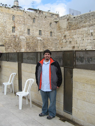 Barry at the Kotel