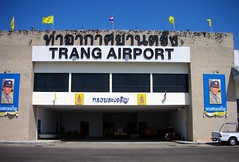 Trang Airport in Thailand