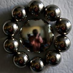 NdFeB Neodymium Magnet Chromium Self-portraits