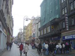 Einkaufsstraße in Karlsbad