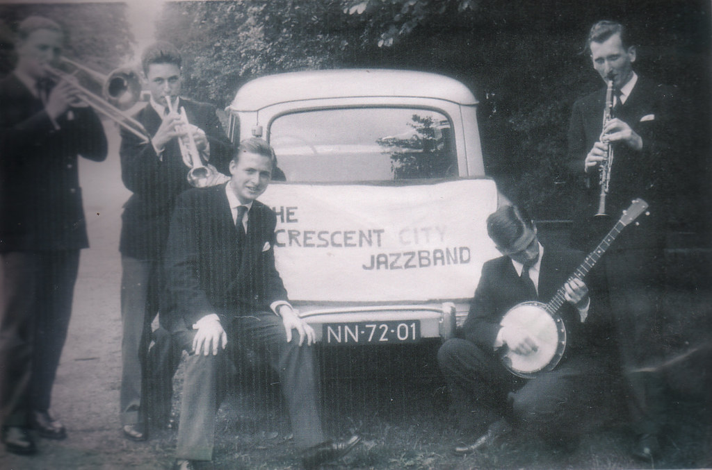 The Crescent City Jazz Band 1955